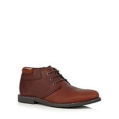 Chatham Marine - Red Chukka boots