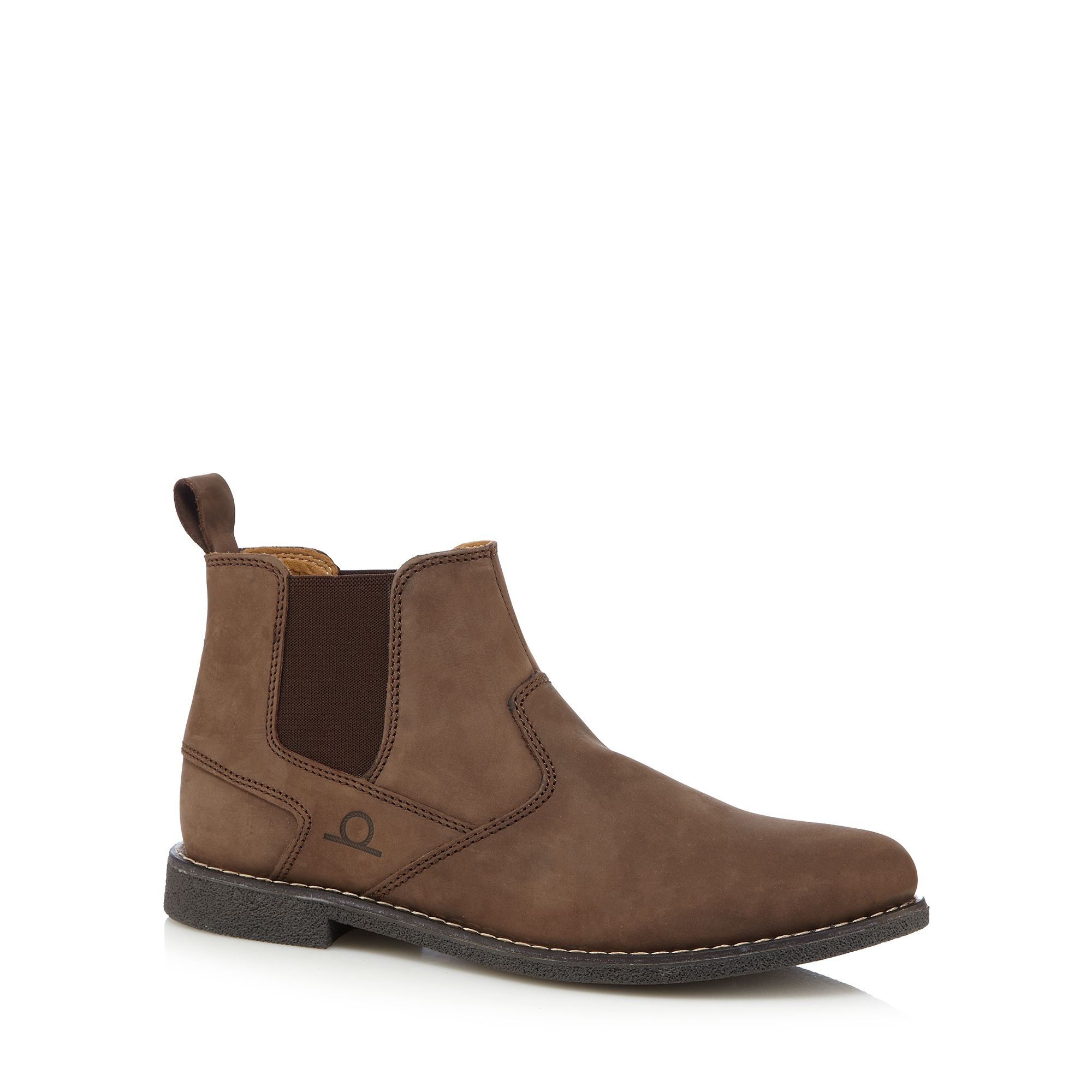 chatham marine mens brown chelsea boots from