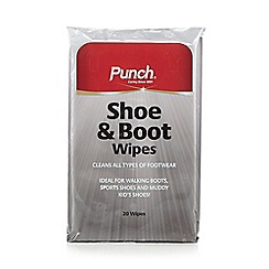 Punch Shoe Care - Shoe and boot wipes