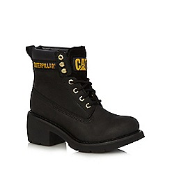 Caterpillar - Black 'Ottawa' heeled boots