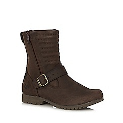Caterpillar - Brown 'Darcy' buckle boots