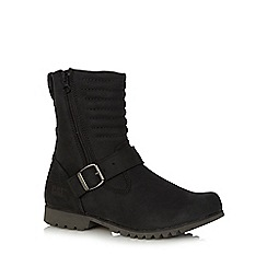 Caterpillar - Black 'Darcy' buckle boots