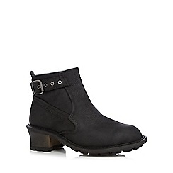 Caterpillar - Black 'Pamela' ankle boots