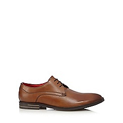 Base London - Tan leather lace up shoes