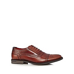 Base London - Tan leather lace up brogues