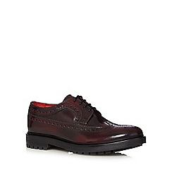 Base London - Dark red leather brogues
