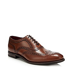 Base London - Tan leather grain brogues
