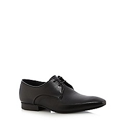 H By Hudson - Black patent leather lace up shoes