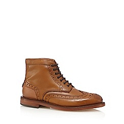 H By Hudson - Brown brogue boots