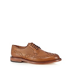 H By Hudson - Tan leather brogues