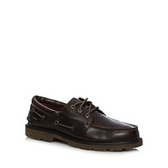 Sperry - Brown leather lace up shoes