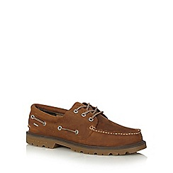 Sperry - Tan leather boat shoes