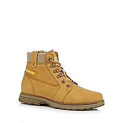 Caterpillar - Tan 'Charli' ankle boots