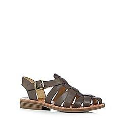 Caterpillar - Brown 'Anders' closed toe sandals