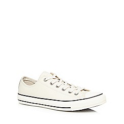 Converse - Off white 'All Star' trainers