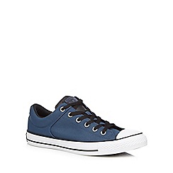 Converse - Navy 'All Star' trainers