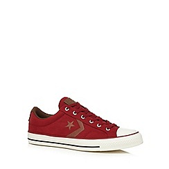 Converse - Red 'Seasonal Star Player' trainers