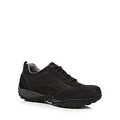 Caterpillar - Black 'Utilize' leather trainers
