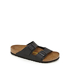 Birkenstock - Black 'Arizona' slip-on sandals