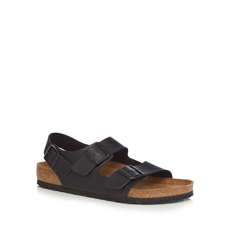 Birkenstock Black 'Milano' sandals