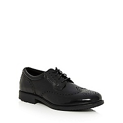 Rockport - Black lace up brogues