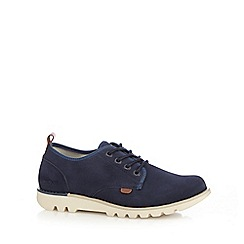 Kickers - Navy 'Losuma' suede shoes