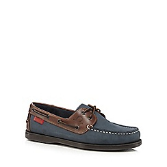 Chatham Marine - Navy 'Commodore' boat shoes