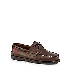 Chatham Marine - Brown 'Commodore' boat shoes