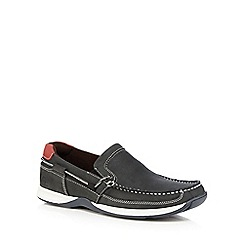Chatham Marine - Navy 'Bowker' slip on boat shoes