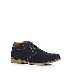 Chatham Marine - Navy leather 'Tor' Chukka boots