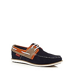 Chatham Marine - Navy 'Sailmaker' boat shoes