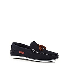 Chatham Marine - Navy 'Ambica' tasselled loafers