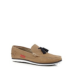 Chatham Marine - Tan 'Ambica' tasselled loafers