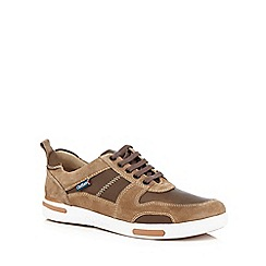 Chatham Marine - Brown suede trainers