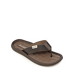 Rider - Brown 'Dunas VI' sandals