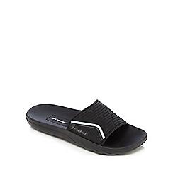 Rider - Black slider flip-flops