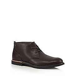 Timberland - Dark brown 'Brook Park' Chukka boots