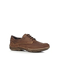 Hush Puppies - Tan leather 'Roland Tallon' shoes