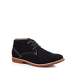 Hush Puppies - Navy 'Graton' ankle boots
