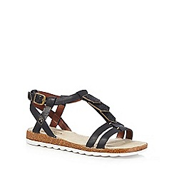 Hush Puppies - Black 'Bretta Jade' sandals
