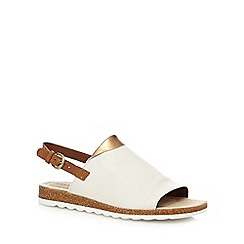 Hush Puppies - Off white 'Nannette Jade' sandals
