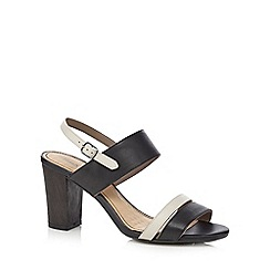 Hush Puppies - Black 'Molly Malia' mid sandals