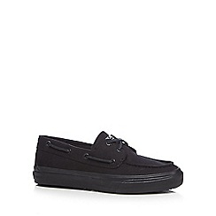 Sperry - Black 'Bahama' boat shoes