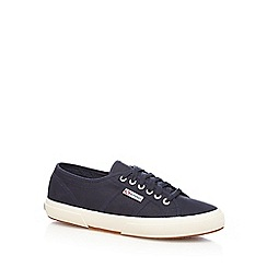 Superga - Navy 'Cotu Classic' lace up shoes