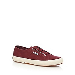 Superga - Red canvas 'Cotu Classic' lace up shoes