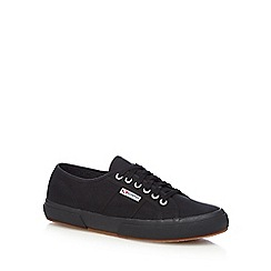 Superga - Black 'Cotu Classic' lace up shoes