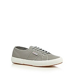 Superga - Grey 'Cotu Classic' lace up shoes