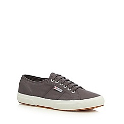 Superga - Dark grey 'Cotu Classic' lace up shoes