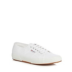 Superga - White 'Cotu' lace up shoes