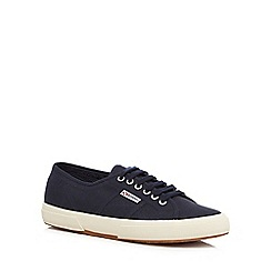 Superga - Navy 'Cotu' lace up shoes